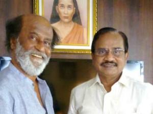 Rajini Willing Do Gandhian Way Politics Says Tamilaruvi Maniyan