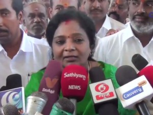 As Governor Inspects The State It Cant Be Called As Governors Rule Tamilisai