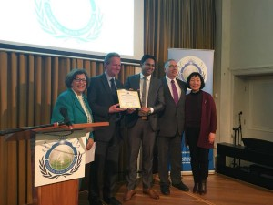 A Man From Tn Gets Ambassador Peace Award England