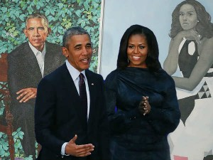 Obama Michelle S Portrait Becomes Viral Social Media