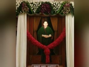 Madras Hc Hear Dmk Plea Against Jayalalithaa S Portrait