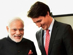 Prime Minister Modi Tweets About His Meet With Canada Pm Justin Trudeau