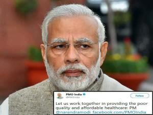 Twitter Teaches Modi On English After Wrong Tweet