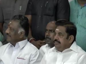 Madras Highcourt Issued Notice Cm Palanisamy Deputy Cm
