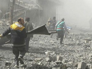Syria War Kills 250 People Including More Than 50 Children In Eastern Ghouta