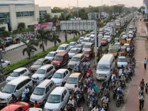 Sudden Hole On Chennai Omr Road