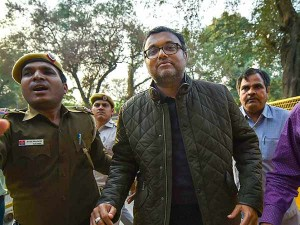 More Trouble Karti Chidambaram Ed Gives Report On More Fipb Clearances
