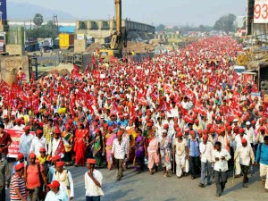 Bjp Says That People Protesting Mumbai Are Not Really Farmer