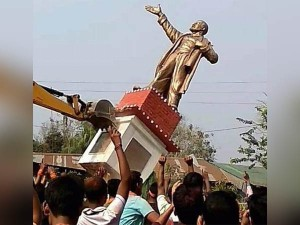 The Razing Lenin S Statue Is Shameful The Indian Democracy