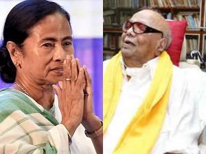 Mamata Wants Meet Karunanidhi