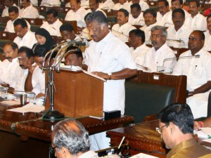 O Panneerselvam Is Criticizing The Union Government Directly