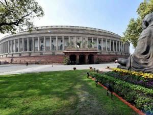 Opposition Parties Uproar Loksabha Adjourned Full Day
