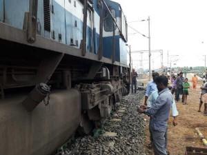 Passenger Rail Derails Nagercoil