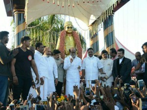 Celebrations Unveiling Dr M G R Statue 30th Year University