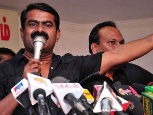 Seeman Says That His Party Is Not Violence Party