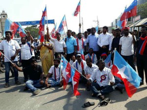 Cauvery Issue Protests Continue Tamil Nadu