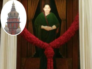 Hc Deliver Verdict On Remove Jayalalithaa Portrait From Assembly