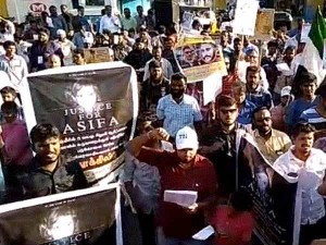 Tamilnadu Thowheed Jamath Conducts Protest At Chennai With