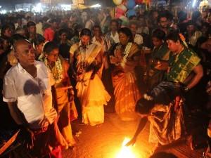 Koovagam Transgender Festival Near Viluppuram