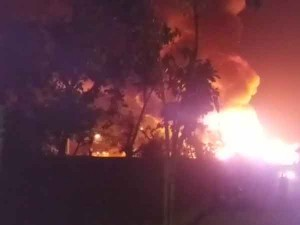 Massive Fire Broke In Rohingya Refugee Camp Delhi