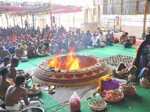 Lakshmi Kubera Yagam On Akshya Tiruthiya Day At Sri Danvanthiri Peedam