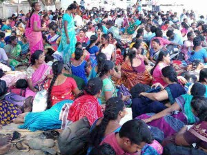 Teachers Are Went On Protest At Erode