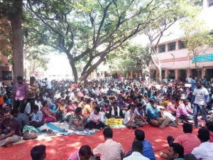 Teachers Strike Enters Third Day Chennai