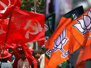 Cpm Bjp Join Hands At Village Level Wb