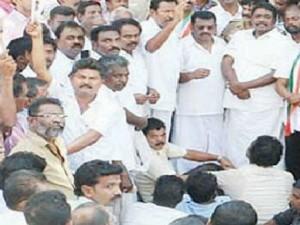 Case Filed Against 5 Mlas Protesting Kanyakumari