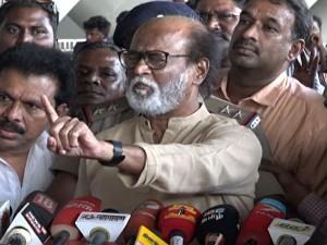 Muj Condemns Rajinikanth Shouting At Reporters Chennai Airport