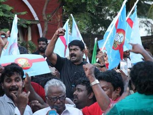 Sixty Naam Thamizhar Party Cadres Arrest Police