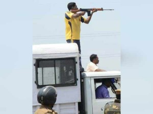Slr Ak47 Used Open Fire Against Sterlite Protesters