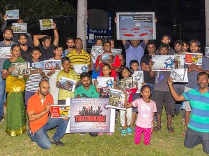 Taiwan Tamils Hold Protest Over Tuticorin Firings