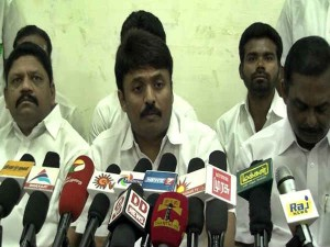 Youth Congress Leader Yuva Raja Announced Protest Erode