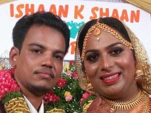 Trans Couple Ishan Surya Get Married