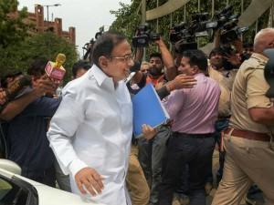 Inx Media Case Chidambaram At Cbi Headquarters Questioning