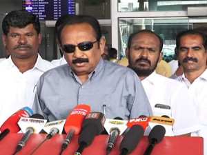Vajpayee S Health Condition Is Improving Says Vaiko