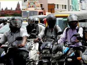 Compulsory Helmet Pillion Riders Bike Orders Chennai High Court