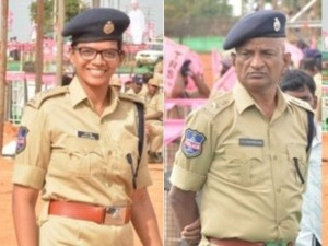 A Assistant Commissioner Father Salutes His Higher Official Daughter
