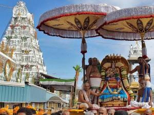 Lord Venkateswara Brahmotsavam Begins