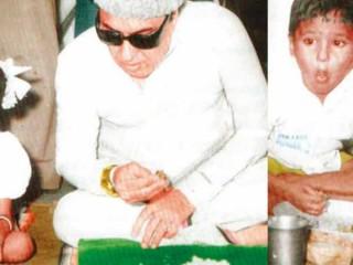 எம்ஜிஆருடன் சத்துணவு சாப்பிட்ட அந்த பையன் இவர்தான்.. 35 ஆண்டுகளுக்குப் பிறகு கண்டுபிடிப்பு!