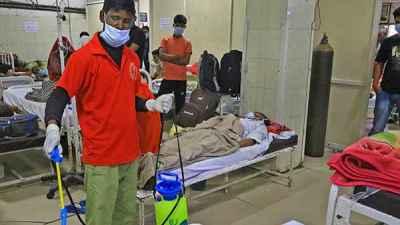 Man dies in Rajastan Family members unplugged ventilator