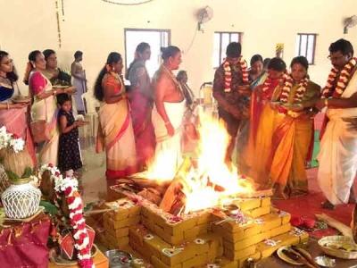 முப்பெரும் யாகங்கள் : முனீஸ்வரர், நவகன்னி மற்றும் கிராம தேவதா வழிபாடு
