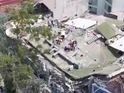 ஒரே மாதத்தில் 2வது பேரழிவு.. சக்தி வாய்ந்த நிலநடுக்கம்.. மெக்சிகோவில் 149 பேர் பலி