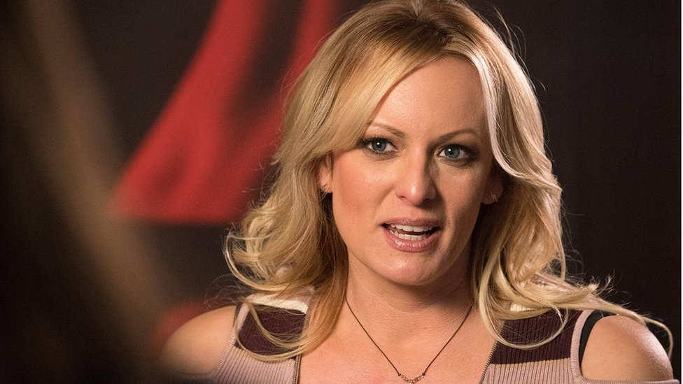 Stormy Daniels, the porn star who claims to have slept with US President Donald Trump over a decade ago