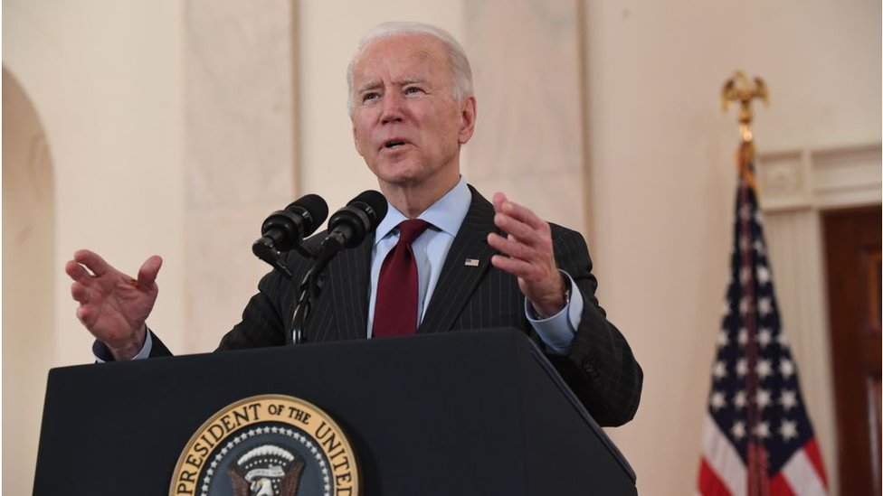 Biden speaks