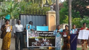 Missing Men Relatives Commence Fasting Trincomalee